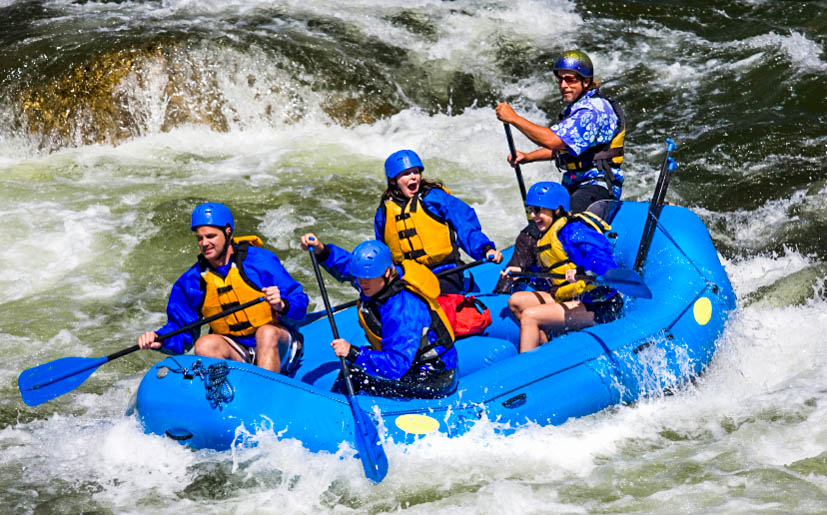 D. Whitewater Rafting
