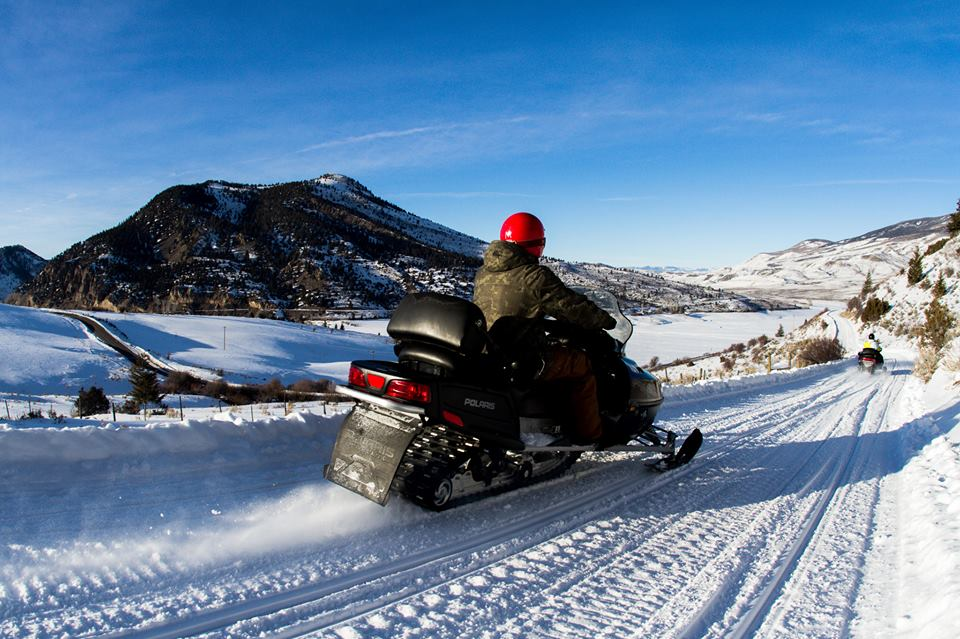 F. Snowmobile