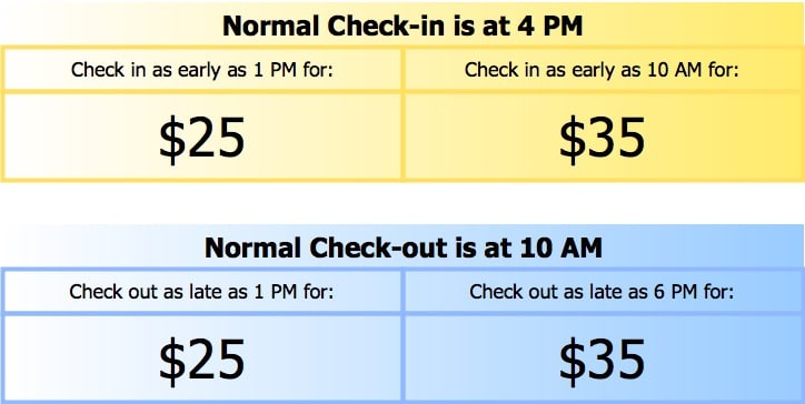 image showing Summit County Mountain Retreats early check-in and late check-out policies