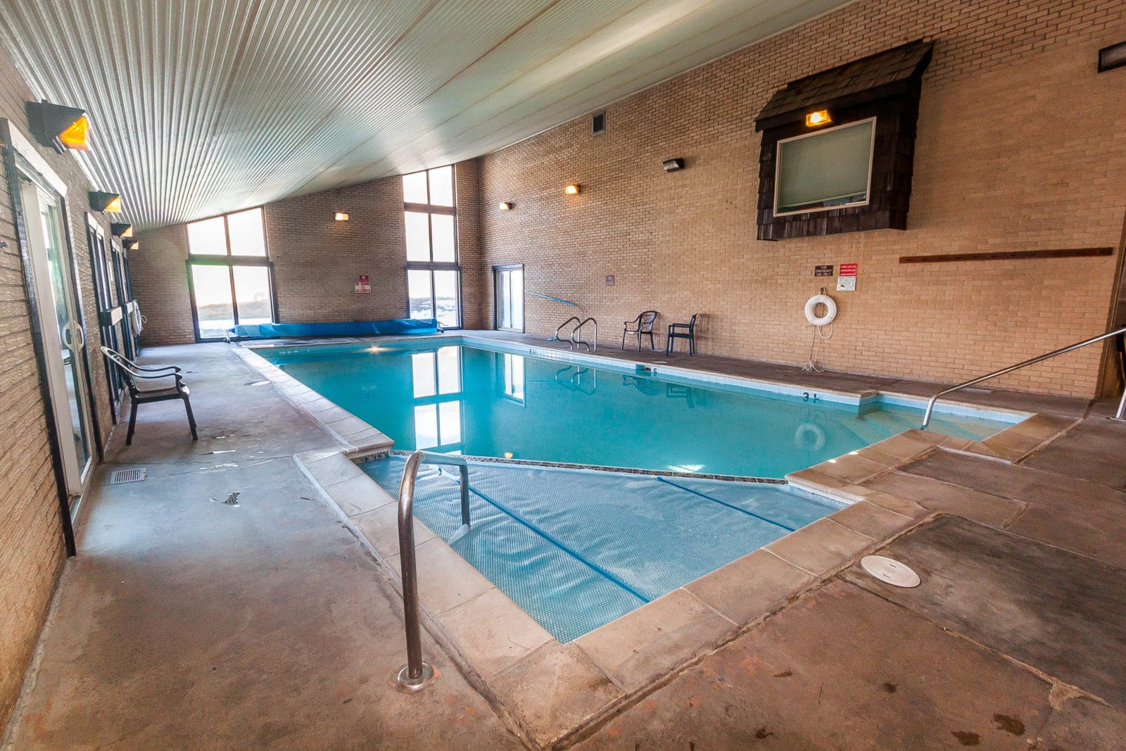 Shared Pool at Dillon Valley West condos.