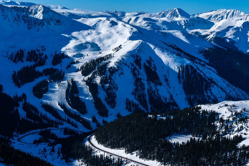 Photo of A-Basin, one of the Colorado Ski Areas